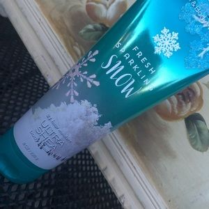 Fresh Sparkling Snow Bath & Body Works Lotion